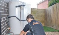 How to light the pilot light on your gas hot water storage tank